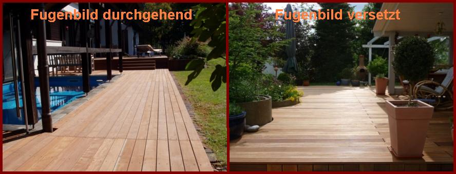 Verlegemuster Für Holzterrasse   Wood-lounge Blog Holz Terrassenbelag Muster Verlegen