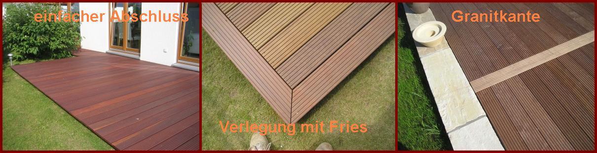 Holz Terrassenbelag Muster Verlegen ~ Wohndesign und Möbel Ideen