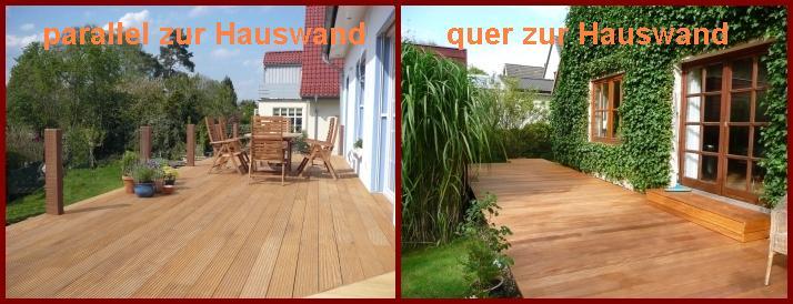 Verlegemuster für Holzterrasse | Wood-Lounge Blog